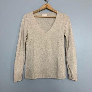 ZADIG & VOLTAIRE | cream cashmere wool sweater S
